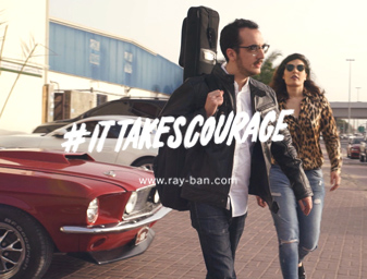 Ray-Ban x Teleferik #ItTakesCourage