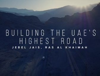 Building the UAE's Highest Road