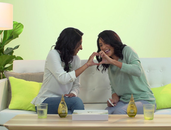 Garnier | Priti and Brianna